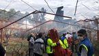 واکنش فرودگاه بیشکک قرقیزستان به سقوط هواپیمای باری در ایران