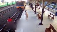 خودکشی یک زن زیر قطار + فیلم حاوی صحنه مرگ