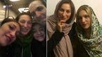 شباهت عجیب و غریب بازیگر زن ایرانی و خواهرش به یکدیگر! +عکس