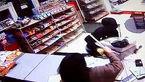 حرکت شجاعانه زن و شوهر  75 ساله در برابر دزد سوپر مارکت +فیلم و عکس