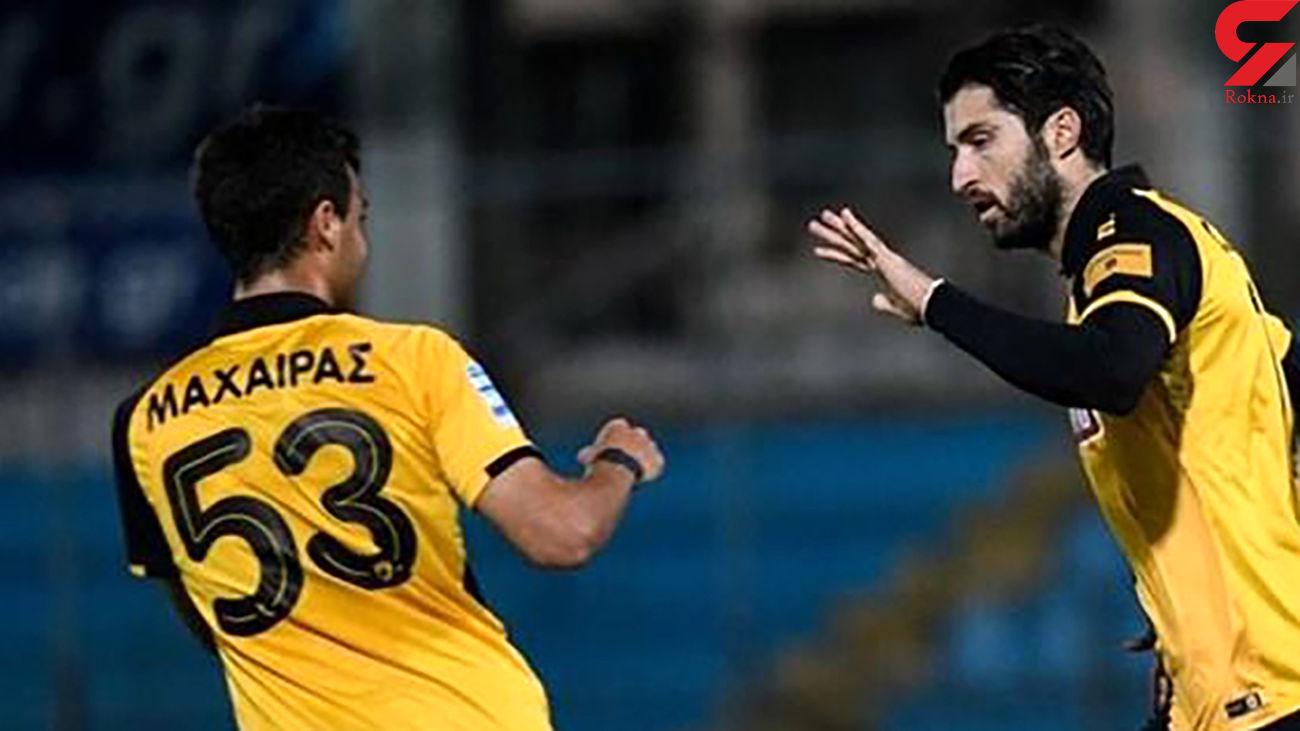 نیمکت نشینی عجیب بازیکن پیشین پرسپولیس در یونان