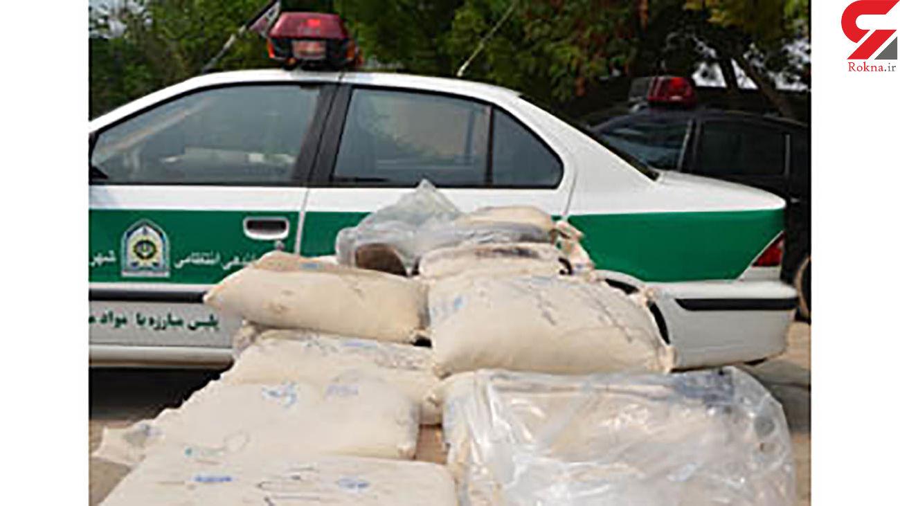 انهدام باند قاچاق مواد مخدر در شهرستان حاجی آباد