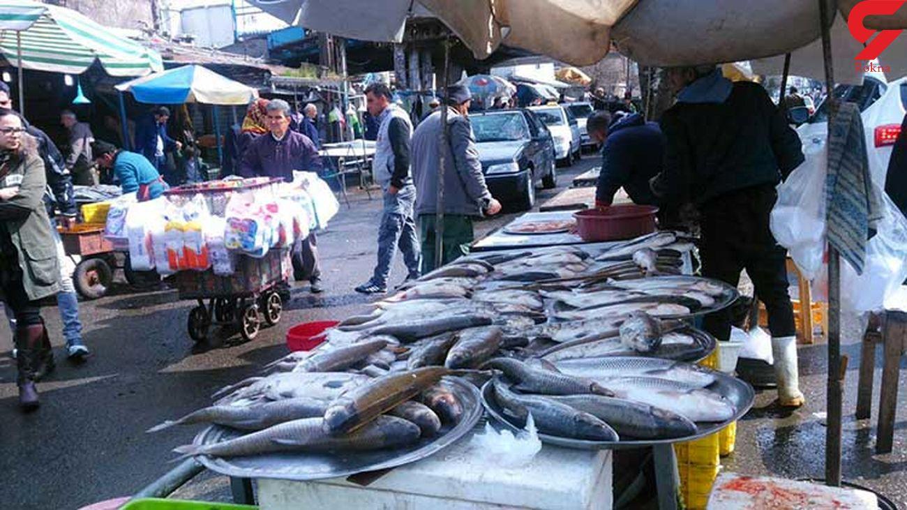 قیمت انواع ماهی در ۸ تیر 1399