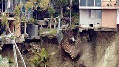 رانش زمین در نیکاراگوئه خانهای را بلعید