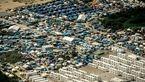درگیری پلیس فرانسه با ساکنان اردوگاه