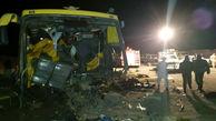 21 قربانی در فاجعه مرگبار اتوبوس زاهدان+ عکس