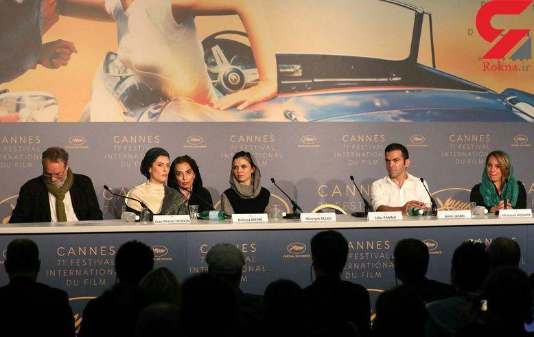 نگاهی به حواشی حضور فیلم جعفر پناهی در جشنواره کن