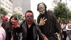لحظه هجوم  زامبیهای وحشتناک به خیابان ها+ فیلم (14+)