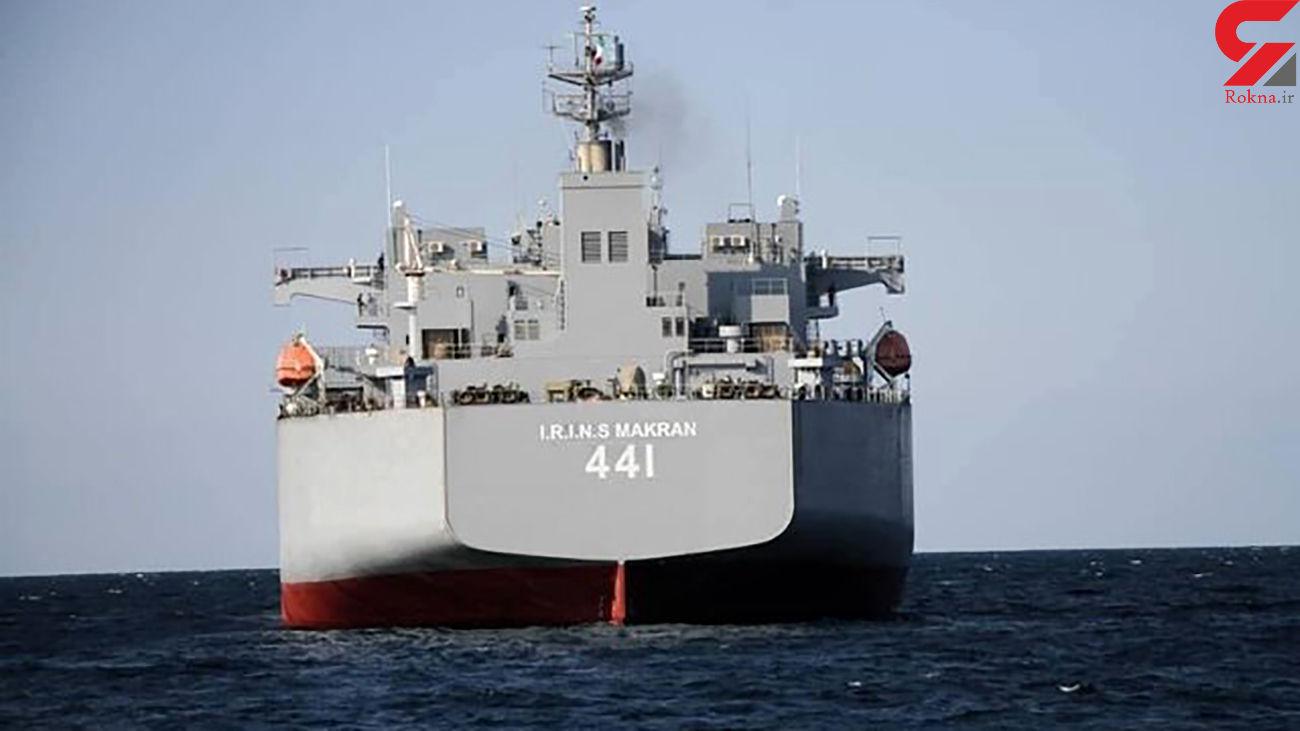 2 کشتی نظامی ایرانی زیر نظر واشنگتن