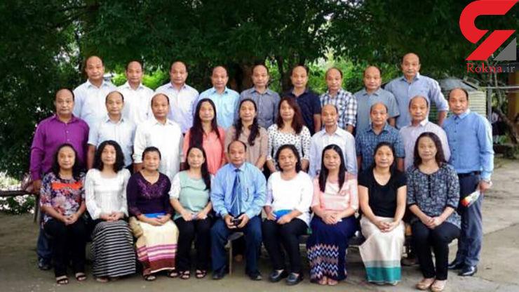 راز این خانواده 28 نفره شبیه به هم چیست؟ +عکس