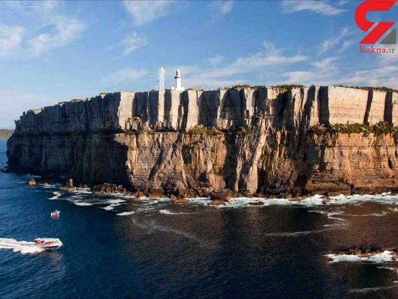 فانوس دریایی که کشتی ها را به گام مرگ می کشید+عکس