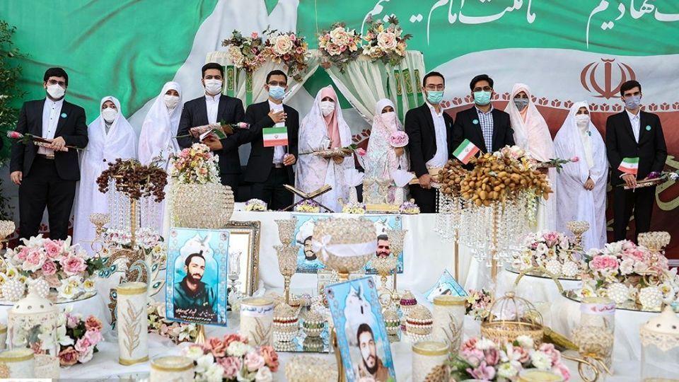 جشن عروسی دختران انقلاب