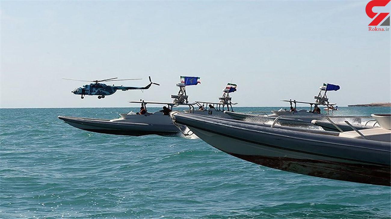 موشکهای 100 کیلومتری ایران روی تندروهای 13 متری + فیلم