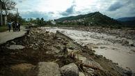 سیل به باغ ملی ۳۳ هکتاری رامسر آسیب زد