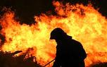 دشتستان همچنان در آتش میسوزد