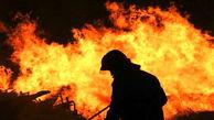 انفجار کپسول گاز در کارگاه مبل سازی کرج