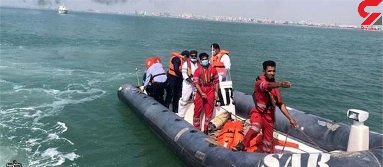 نجات جان ۸ صیاد در آبهای جنوب جزیره قشم