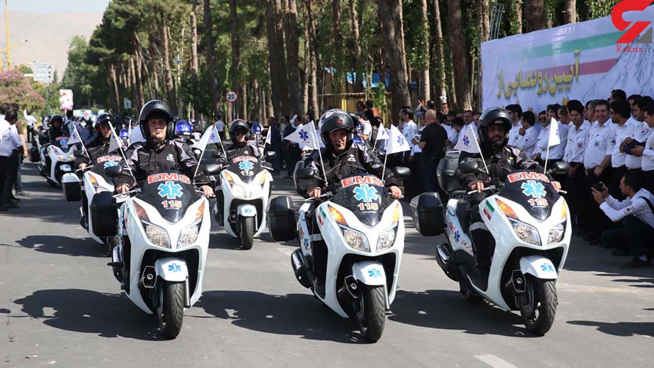 اورژانس کشور صاحب 1000 دستگاه موتورلانس می شود