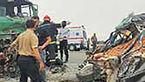 قربانیان تصادف های نوروزی، 6درصد کل تلفات رانندگی + عکس