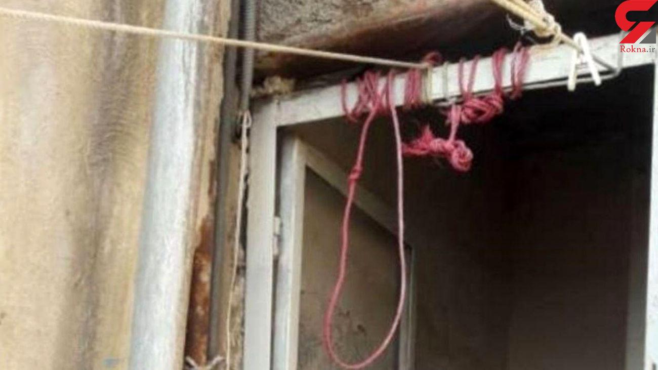 خودکشی مبینا دختر 10 ساله در امین آباد + عکس محل حادثه