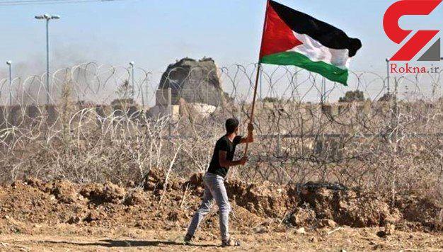"""یک شهید و دهها زخمی در سیوسومین تظاهرات """"بازگشت"""" در مرز غزه"""