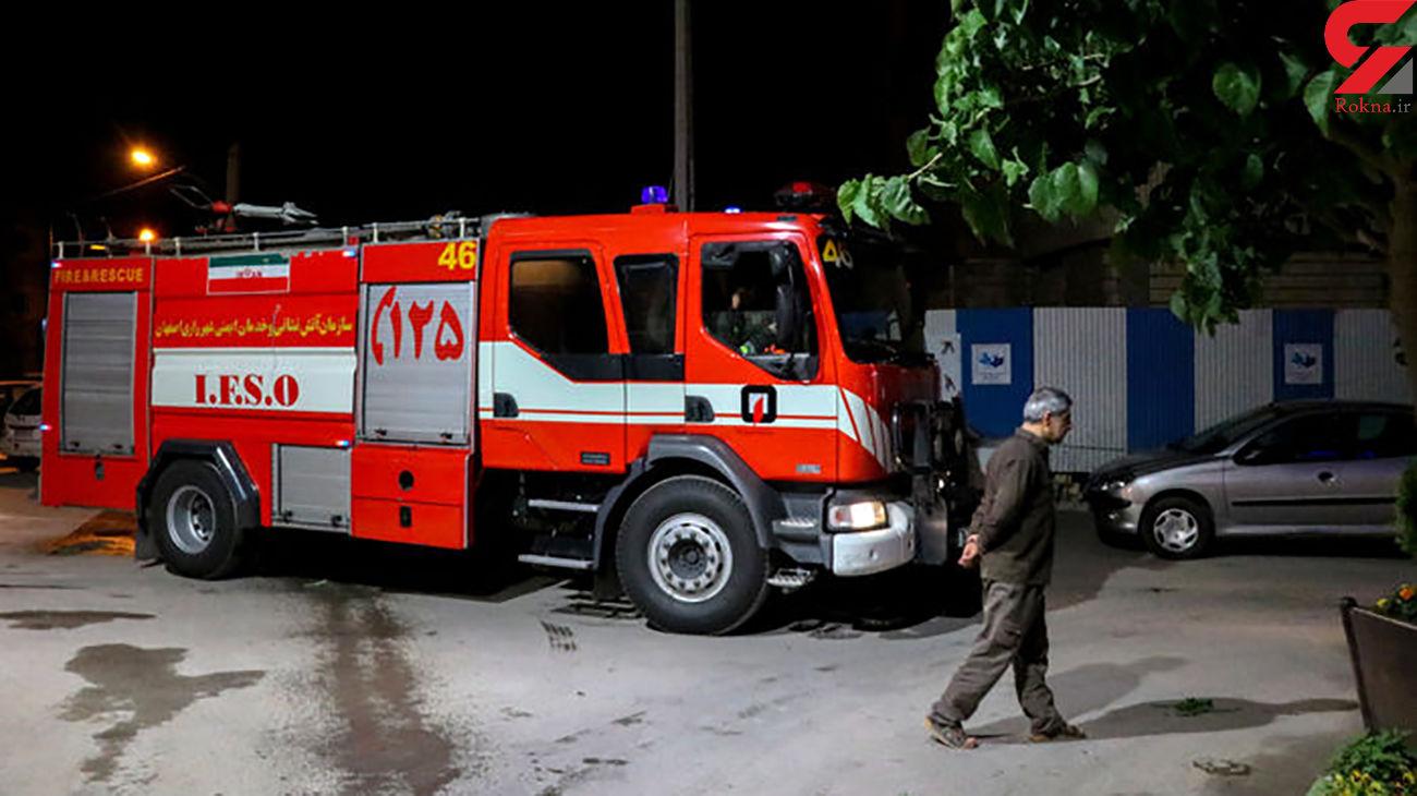 زنده ماندن عجیب 27 زن و مرد و کودک تهرانی در میان شعله های آتش