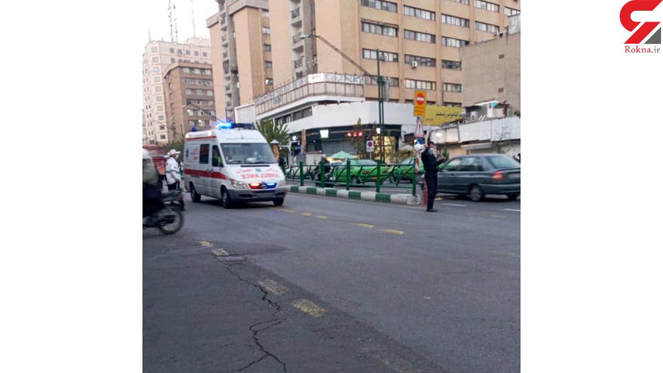 خودکشی فجیع  یک مرد در متروی تهران + عکس