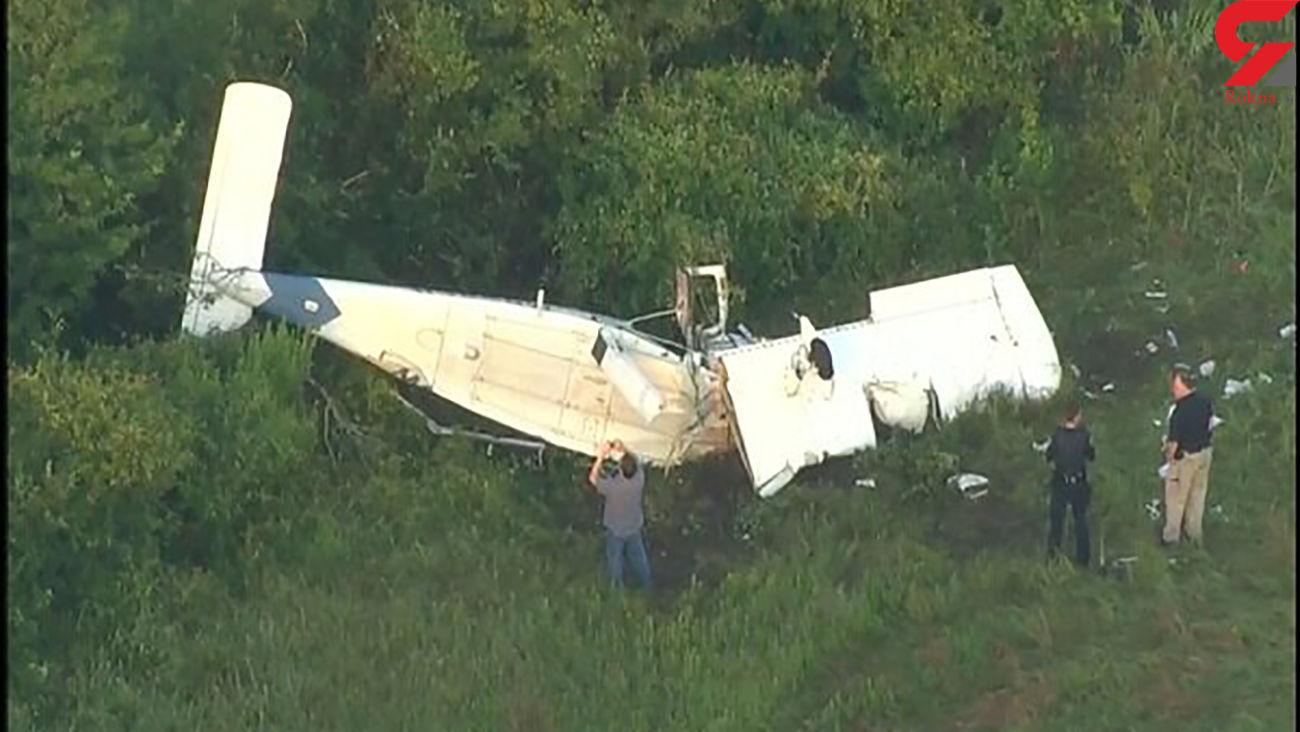سقوط هواپیما در تگزاس آمریکا / یک نفر کشته و ۵ تَن زخمی شدند