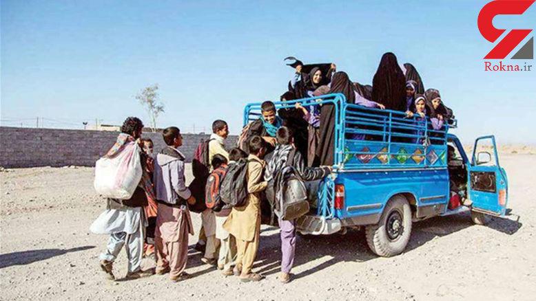 محرومیت های دانش آموزان جازموریان /  ما ۱۶۵ کیلومتر جاده میخواهیم