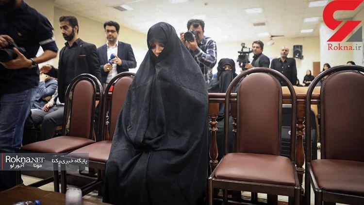 شبنم نعمت زاده چرا با چادر در دادگاه حاضر شد ؟ / رییس دادگاه تشریح کرد + عکس