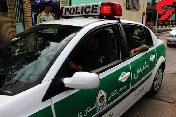 حمله زن رقاص به ماموران نیروی انتظامی و زیر گرفتن مامور راهور+ فیلم و عکس