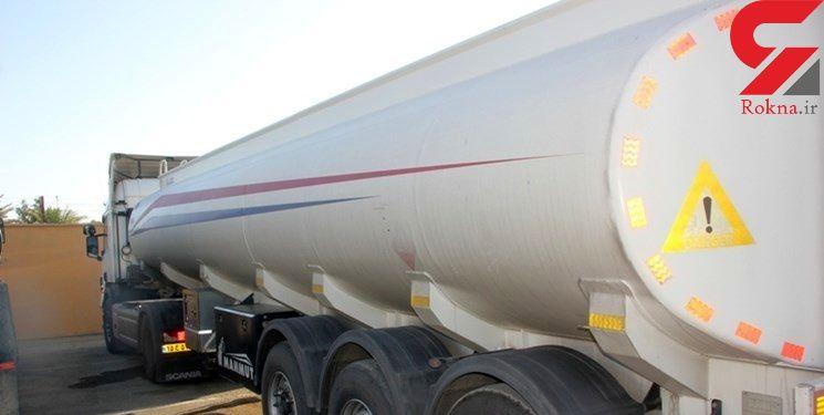 توقیف نفتکش حامل  بنزین سوپر قاچاق در بناب