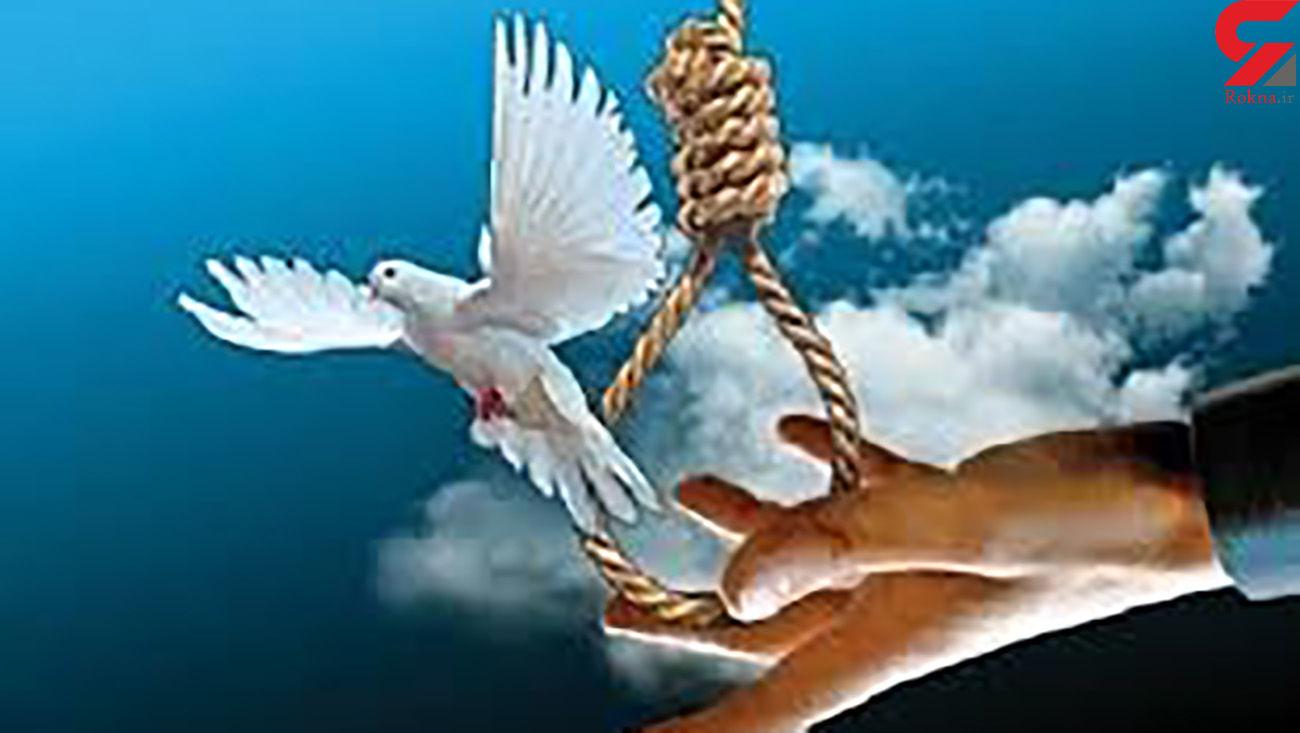 پاره شدن طناب دار از گردن قاتل در گلستان / همه در زندان خوشحال شدند