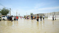 بارندگیها سیلاب در رودخانه هیرمند راه انداخت