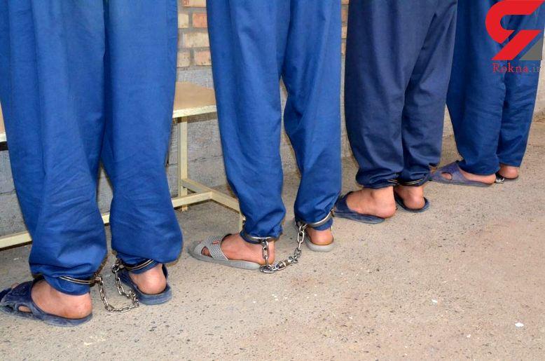 دستگیری 4 سارق فیبر نوری و کابل مخابراتی در گیلان