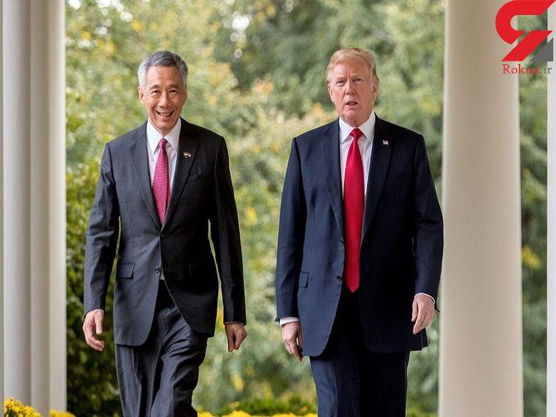 ترامپ برای دیدار با اون وارد سنگاپور شد