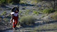 نجات جان ۳ روستایی در بخش زرآباد توسط بالگرد جمعیت هلال احمر