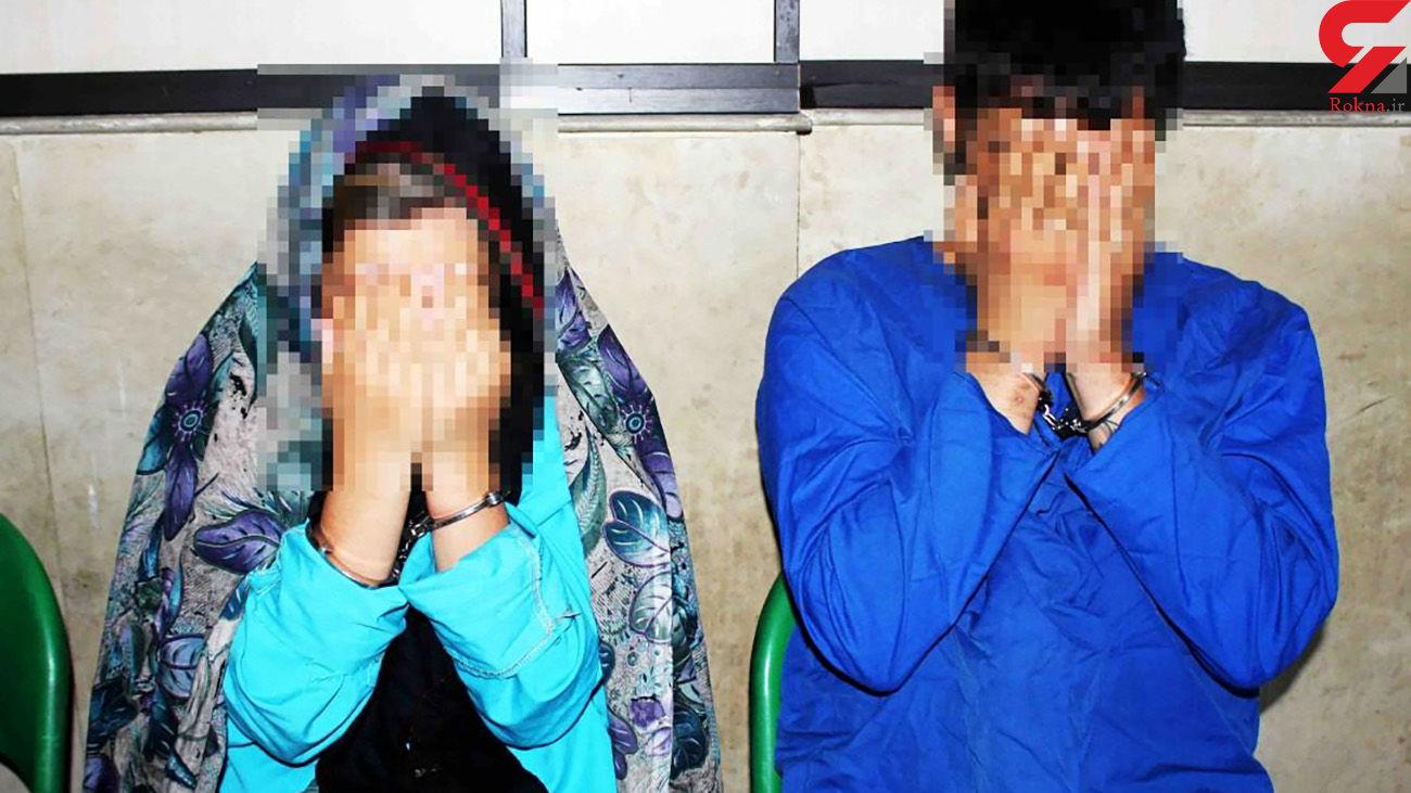 دستگیری خطرناک ترین زوج تهرانی/ رانندگی هالیوودی زن کار دست شان داد