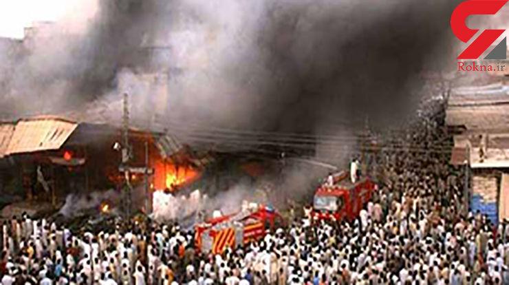 ۹ کشته و زخمی در انفجار پاکستان