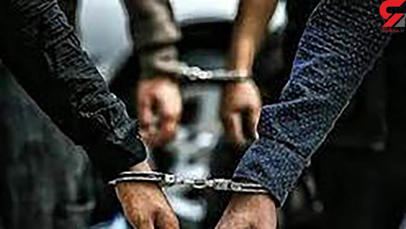 دستگیری سارقان حرفه ای در آبادان