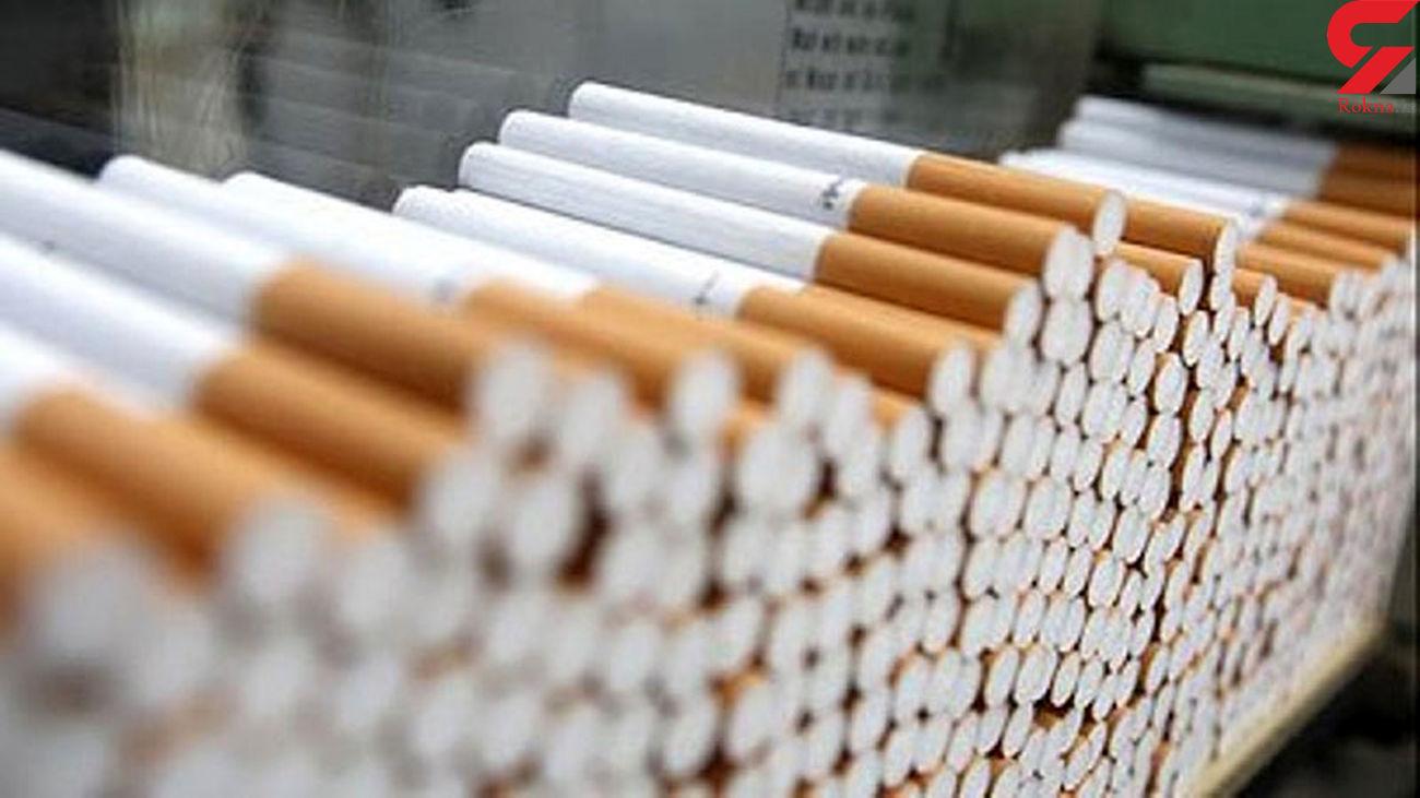 کشف بیش از650 هزار نخ سیگار قاچاق در بندرلنگه