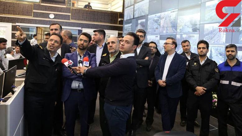 وزیر ارتباطات هم توسط پلیس جریمه شد +عکس و فیلم