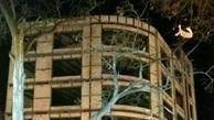تکرار صحنه خودکشی جوان اردبیلی از همان ساختمان ! + عکس