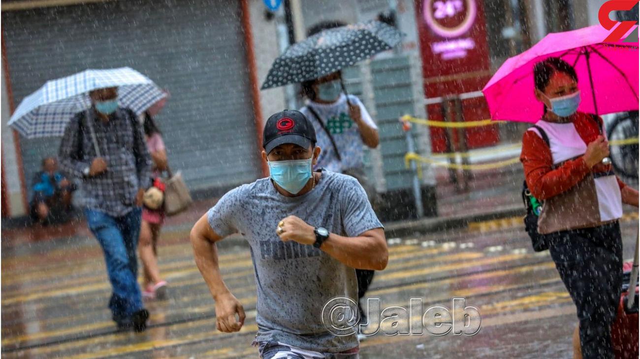 آیا در هوای بارانی ماسکهای خیس قابل استفادهاند؟