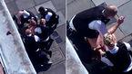 فیلم / 4 پلیس یک مرد را وحشیانه کتک زدند+عکس