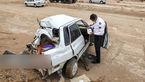 تصادف مرگبار دو دستگاه خودروی سواری