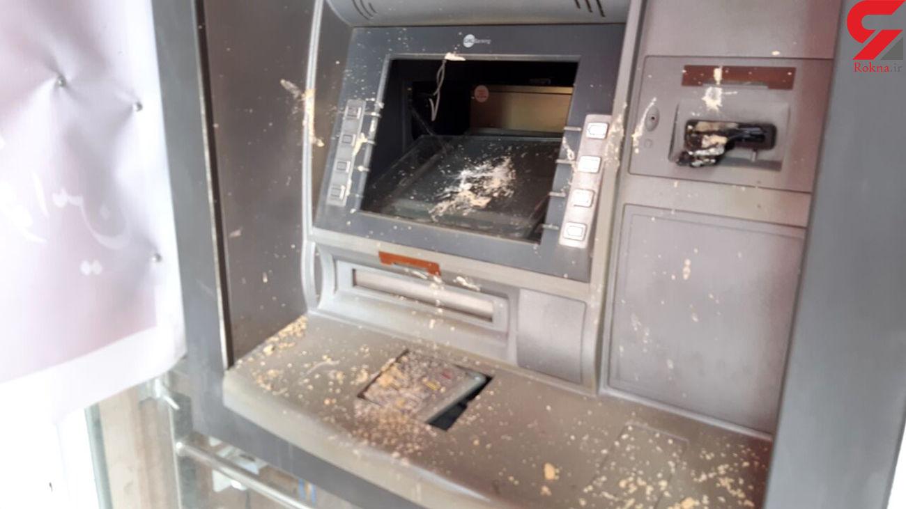 دستگیری عاملان تخریب دستگاه خودپرداز بانک در هرسین