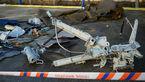 هواپیمای توپولف 154 بطور کامل تخریب شده است +عکس