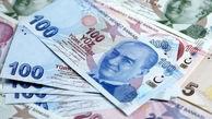 ارزش لیر ترکیه نزولی شد