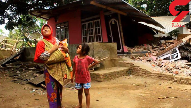 شمار جان باختگان زمین لرزه اندونزی به ۱۶۴ تن رسید/۱۴۰۰ نفر مجروح شدند